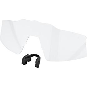 100% Speedcraft Bril Klein, soft tact off white hiper red/HD multilayer mirror